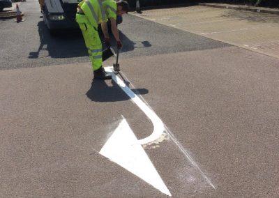 C&A - Line Marking